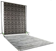 Gray Pine Backdrop Floordrop Set | Backdrop Express