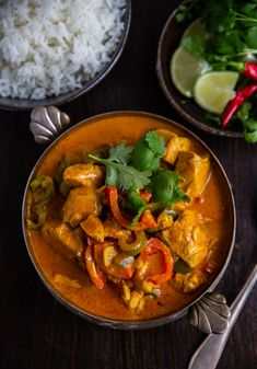 Pollo en leche de coco- Colombiansk kycklinggryta - ZEINAS KITCHEN Tamarindo, 20 Min, Thai Red Curry, Love Food, Oreo, Seafood, Food Photography, Food And Drink, Low Carb