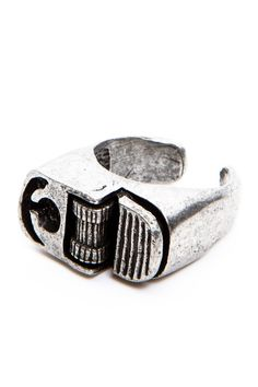Awesome. A lighter-shaped ring. If it could actually light things,  I'd buy 100 of them. $5 Brandy Melville USA