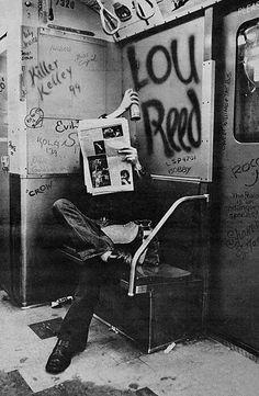 Lou Reed of the Velvet Underground.