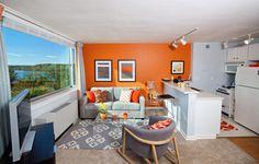 Leigh Studio Model Living Area
