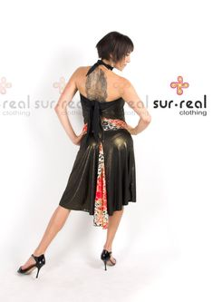 Mermaid Tail Tango Skirt. Metallic Copper. by SurRealClothing