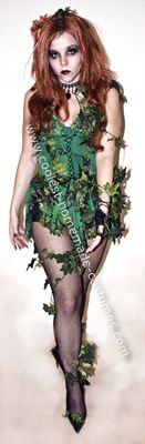 I made this Homemade Poison Ivy Halloween Costume because I was sick of the LAME Poison Ivy costumes I've Poison Ivy Halloween Ideas, Poison Ivy Halloween Costume, Poison Ivy Costumes, Halloween Kids, Halloween Makeup, Halloween Party, Halloween Costumes, Teal Hair, Homemade Costumes