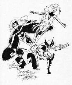 X-Men by John Byrne. 1979