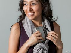 Need: This Stylish Scarf Wrap That Acts As A Secret Clutch