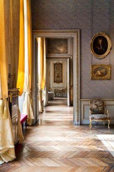 Museum Jacquemart-Andre, Paris, interieur, cabinet-de-travail-couloirc