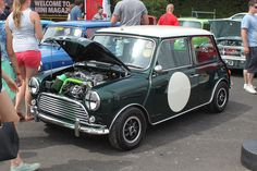 mk1 mini, rose petals, supercharged IMG_6537 by Jonathan Clapp, via Flickr