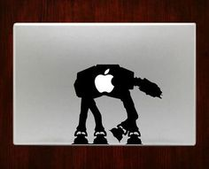 Star wars atat Decal Sticker For Macbook Pro Air Retina 11 / 13 / 15 / 17 inch Macbook Laptop 1. Easy application in minutes.2. High resolution, full detail precision cut.3. Decals are cut on High Qua