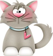 Jy is purrfect vir my Cute Cartoon Pictures, Cartoon Pics, Cute Pictures, Cute Animal Clipart, Cute Clipart, Cat Paws, Dog Cat, Cat Template, Cartoon Sketches