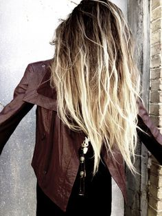 messy ombre