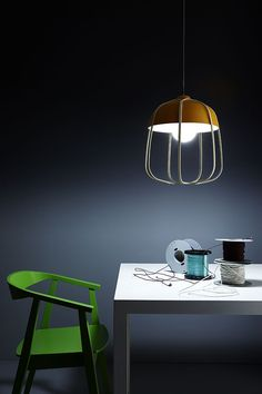 The light fixture you choose for your home or office can truly help set the tone for the space. This is especially true of the Tull Metal Cage Desk or Ceiling Lamp. The light fixtures, designed by a young and promising Italian designer named Tommaso Caldera, definitely command attention. Their design is a contemporary reinterpretation …