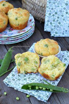 Muffin salati con piselli by Chiarapassion