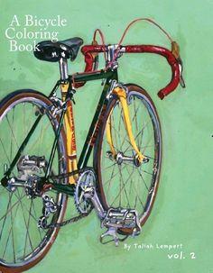 Een fiets kleurboek Vol. 2