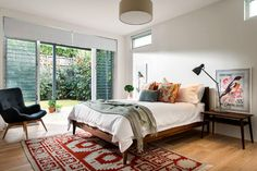 Cotlesloe - midcentury - Bedroom - Perth - Collected Interiors