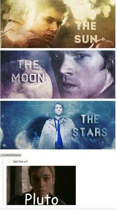 Team free will... and Adam #Supernatural #Dean #Sam #Castiel #Adam