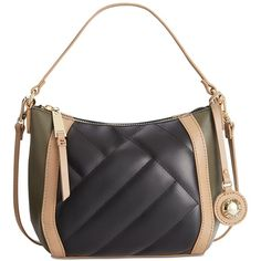 Tommy Hilfiger Alissa Colorblock Leather Mini Hobo (15125 ALL) ❤ liked on  Polyvore featuring · Hobo PursesSatchel ... f42c5c8871fc3