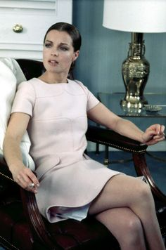 Romy Schneider - 1960's shift.