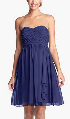 Chiffon dress by Donna Morgan