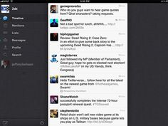 Twitter for iPad, Free, Once (or if) you become accustomed to. Twitter for iPad's cramped composition box design, you'll find it hard to go back to TweetDeck for iPad or any other iPad Twitter client. It's not perfect, but it simply feels right in both horizontal and vertical orientations. It's obvious that Twitter spent a good amount of time in creating this app, and it was well worth the lengthy wait.