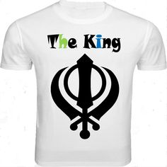 """This white round necked half-sleeved T-shirt is graphically designed especially for all those macho-men with the """"Be Punjabi"""" attitude. Feel like the """"King"""" when you wear this T-shirt with a pair of denims."""