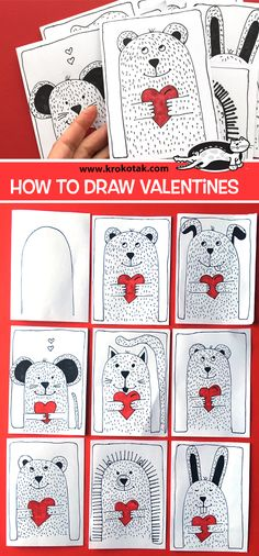 Drawing art projects for kids valentines day 54 new Ideas Drawing art projects for kids valentines day 54 new Ideas Valentines Art Lessons, Valentines Art For Kids, Kinder Valentines, Valentine Day Crafts, Projects For Kids, Art Projects, Classe D'art, Valentines Bricolage, Valentines Day Drawing