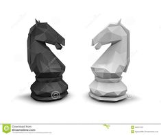 Photo about Geometric chess horse black and white, isolated on white background. Illustration of concept, horses, business - 49521153 Chess Tattoo, Knight Chess, Tatoos, Digital Marketing, Horses, Black And White, Melbourne Cup, Chess Sets, Illustration