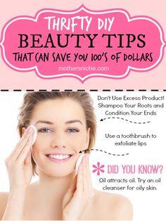 DIY Beauty Tips. So many fabulous ideas