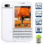 Mpie MP108 Android 4.2 3G Qwerty Keyboard Smartphone with 3.2 inch MTK6572 Dual Core 1.0GHz 4GB ROM GPS Dual Cameras