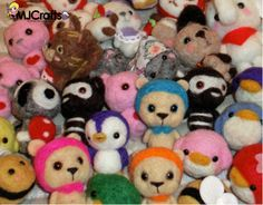 Preparing the Blythecon Barcelona 2014 - Needle felted animals (blythe mascots) by MJ Crafts