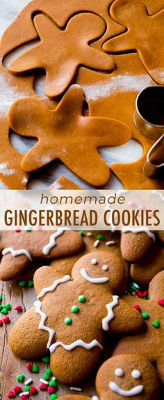 This is the best recipe for gingerbread men! Easy to mix together, taste unbelie… This is the best recipe for gingerbread men! Easy to mix together, taste unbelievable, and fun to decorate! Gingerbread cookie recipe on sallysbakingaddic… Christmas Sweets, Christmas Cooking, Holiday Baking, Christmas Desserts, Christmas Cupcakes, Christmas Christmas, Easy Christmas Recipes, Christmas Cookies Kids, Frozen Christmas