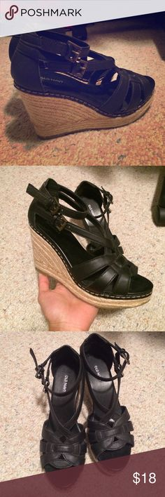 NEW Wedges New wedges, never worn. All posts open to offers, trades, custom/bundled deals, M, Ven. Old Navy Shoes Wedges