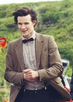 "10b: Doctor Who: Matt Smith plays the eleventh incarnation of the Doctor. He travels with his companions Amy, Rory, and River. He just recently regenerated in the Christmas special and was well loved by all of the fans. He brought a childish demeanor to the Doctor, making him more whimsical and light with his bowtie and his fez, both fashion choices he proclaims as ""cool."""