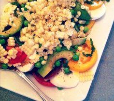 summertime caprese salad