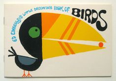 ED EMBERLEY - Little Drawing Book of Birds, 1973