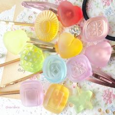 Beautiful & Colourfull Resins Sweets. ❤