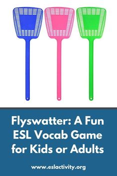 Fly Swatting Game for English Learners: Help Students learn Vocabulary
