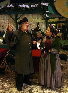 Beadle Bumble proposes to Mrs Corney (from Oliver Twist)