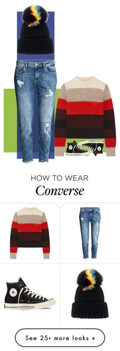 """boyfriend"" by m-antics on Polyvore featuring rag & bone, H&M, Converse and Eugenia Kim"
