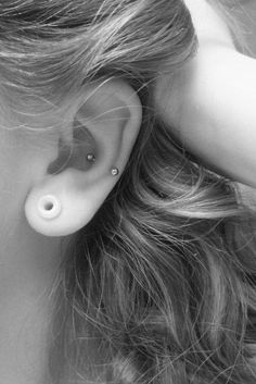 Love the gauge and the piercing!: