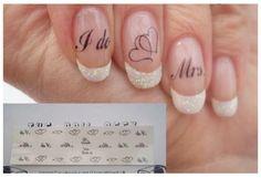 Wedding nails, stickers                                                                                                                                                                                 Más