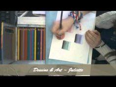 Tutoriel dégradé crayons de couleurs