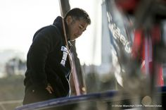 Kojiro Shiraishi (JAP), skipper Spirit of Yukoh, on pontoons of the Vendee Globe, in Les Sables d'Olonne, France, on November 2nd, 2016 - Photo Olivier Blanchet / DPPI / Vendée Globe Kojiro Shiraishi (JAP), skipper Spirit of Yukoh,