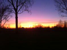 sunset on a lazy sunday