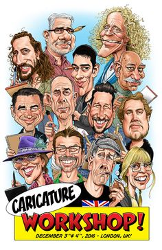 You've seen his work in dozens of national and international magazines, newspapers, products, books, films, and on TV… now spend three days learning the art of caricature from one of the best in th…