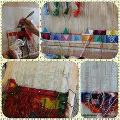 Her er en sniktitt på hva vi lager til Åpent Hus, du finner oss på Veitvet senter og salgsmessen finner sted 19-21.11.15 #mas #åpenthus #lappesøm #syglede #quilt #farger #stitchery #fun #massenteret #patchwork