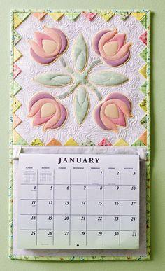 LOVE the idea!  Perennial Peonies/Going Dutch - What a great idea for a calendar!