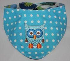 Owl, Wendehalstuch 'Eule' von TriTraTrullaLa auf DaWanda.com