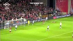 Duńczyk chciał wrzucić piłkę ale nie trafił w futbolówkę i wyszła poza pole • Śmieszna gafa Dennisa Rommedahla • Wejdź i zobacz >> #soccer #sports #football #pilkanozna