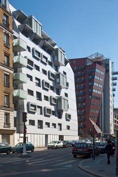 46 Homes in Rue du Maroc,© Hervé Abbadie
