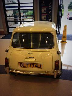 Mini Cooper at the Motor Heritage Centre at Gaydon | Ridgeway